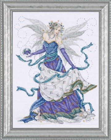 ICE FAIRY Cross Stitch Kit from Design Works -2739